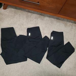 Zella leggings 3 pack
